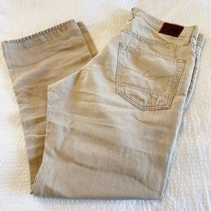 Agave Denim Waterman Linen Relaxed Straight Jeans